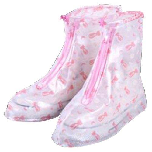 Rain Shoe Cover  Non-slip Wear  Shoe Cover Waterproof [Multicolor]