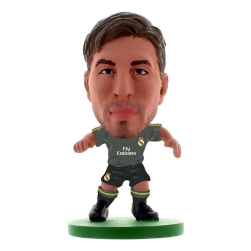 SoccerStarz SOC380 Real Madrid Sergio Ramos Away Kit