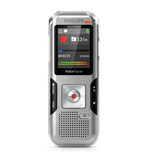 Philips DVT4010 Internal memory & flash card Silver dictaphone
