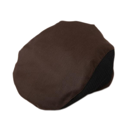 Fashion Cook Hats Hotel Cafe Breathable Mesh Chef Hats-Deep Coffee
