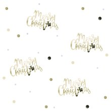 Gold Script Table Confetti - 14g - Gold Christmas Table Deocoration Xmas