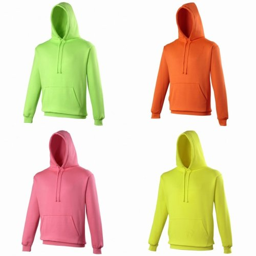 Awdis Unisex Electric Hooded Sweatshirt / Hoodie