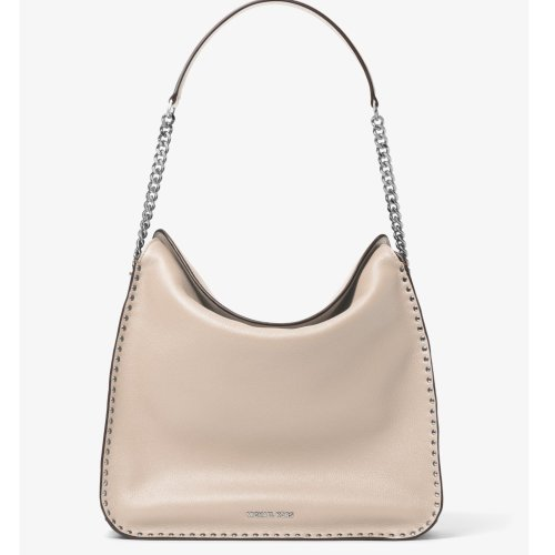 8f5a863af6ed Michael Kors Astor Studded Large Hobo Bag - Cement - 30T6SATH3L-092 ...