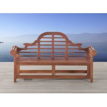 3 Seater Garden Bench - Seat - Acacia Wood -  TOSCANA Marlboro