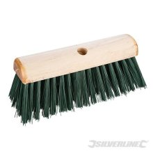 "Silverline Broom Pvc Saddleback 330mm (13"") - 13 196579 -  pvc broom silverline 13 330mm saddleback 196579"