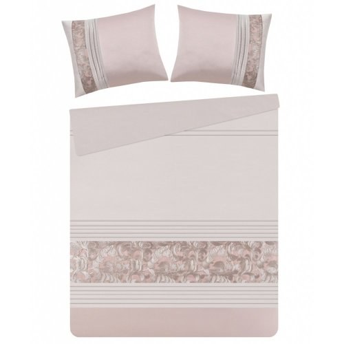 Duvet Cover Set 160 x 200 cm Pink GIARRE