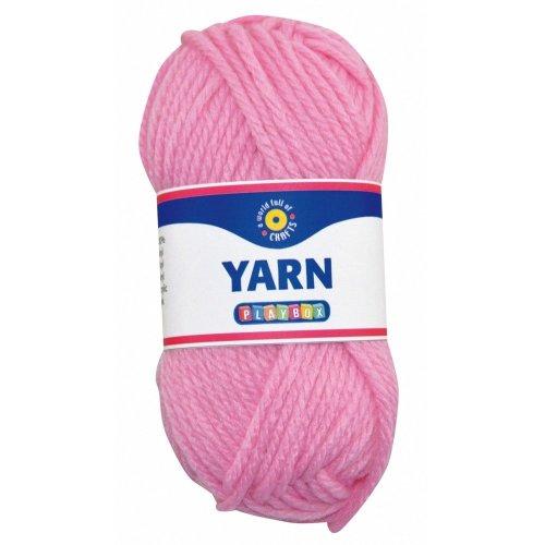 Pbx2470984 - Playbox - Acrylic Yarn (pink) - 50g