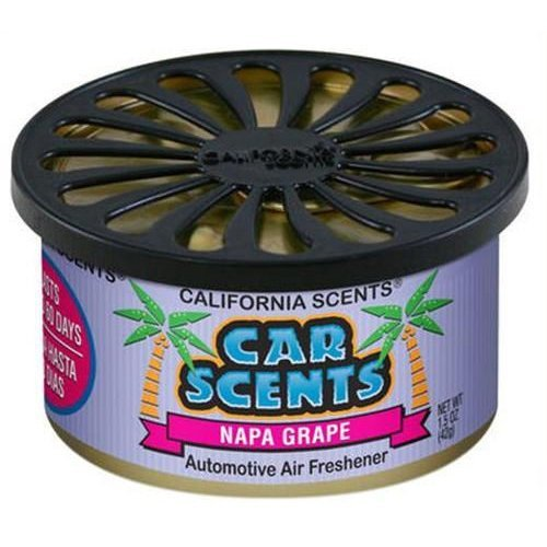 CALIFORNIA SCENTS AIR FRESHENER HOME OFFICE CAR VAN BUSINESS TAXI BUS CAB TRUCK[NAPA GRAPE]