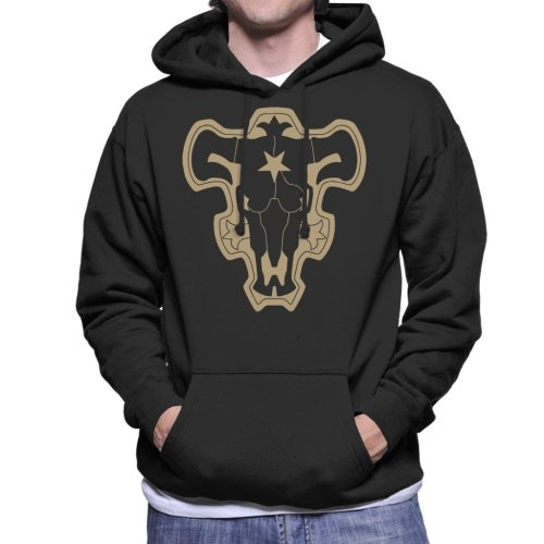 Black Clover Black Bulls Logo Men's Hooded Sweatshirt