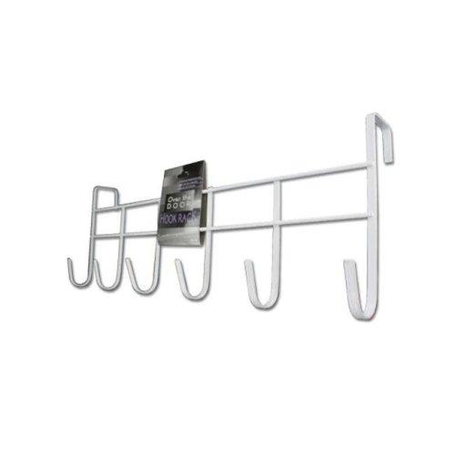 Bulk Buys HH153-60 Over-The-Door Hook Rack