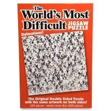 World's Most Difficult Jigsaw Puzzle - Dalmatians (529 Pieces)