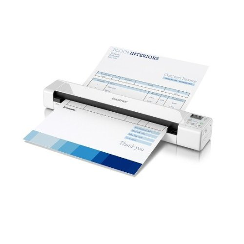 Brother Ds-820w Sheet-fed 600 X 600dpi A4 White Scanner