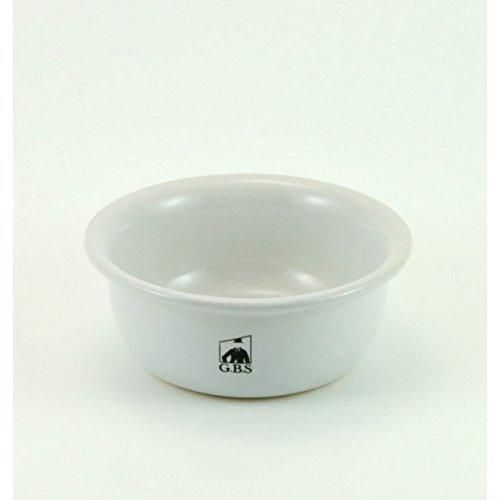 GBS White Ceramic Shaving Bowl