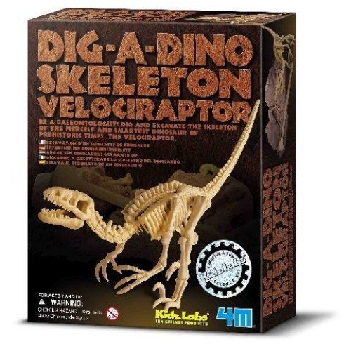 Dig A Dino (Velociraptor)