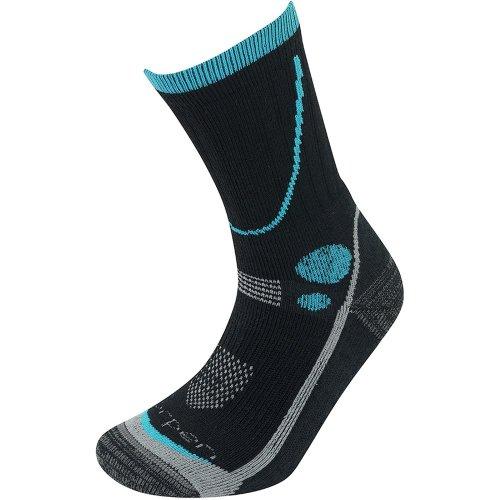 Lorpen Womens T3 Midweight Hiker Socks Black (Medium UK 6-8)