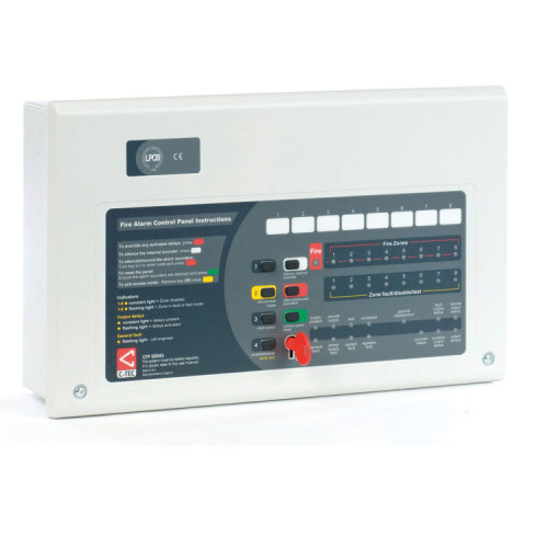 C-TEC CFP 704 Range Of Conventional Fire Alarm Panels