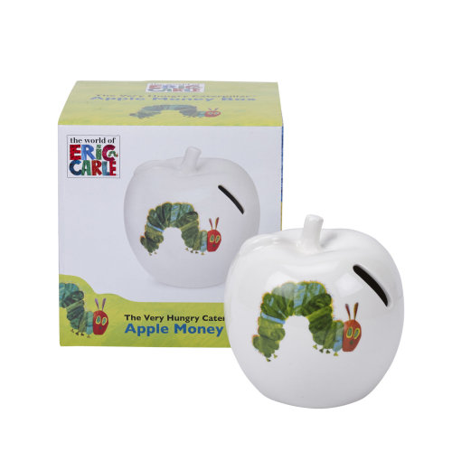 The Very Hungry Caterpillar Apple Money Box