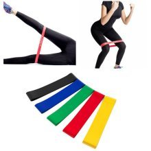 Resistance Bands Pull Rope Latex Elastic Yoga Training Bandage Belt Fitness Exercise Equipment