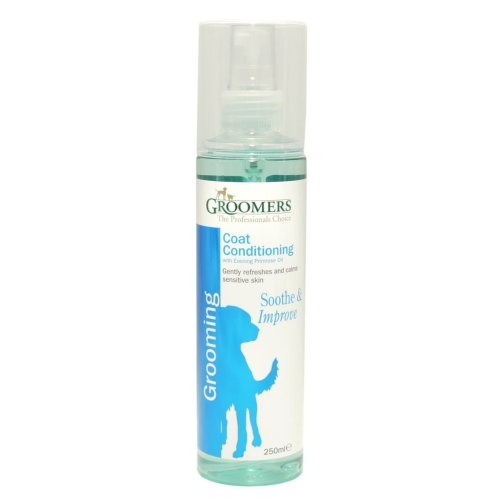 Groomers Coat Conditioning Spray Evening Primrose 250ml (Pack of 6)