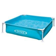Intex - mini frame pool - Blue 122 x 122 cm