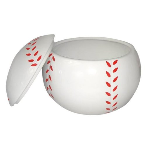 KitchenWorthy 290-BBCJ Baseball Cookie Jar