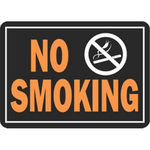 Hy-Ko Products 811 Sign No Smoking 10 x 14 in. Aluminum Pack Of 12