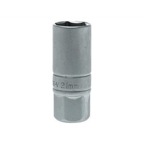 Teng M120046C Spark Plug Socket 1/2in Drive 21mm