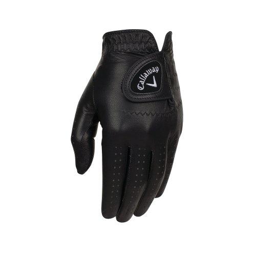 Callaway Golf Opti-Colour Gloves, Black, Medium/Large