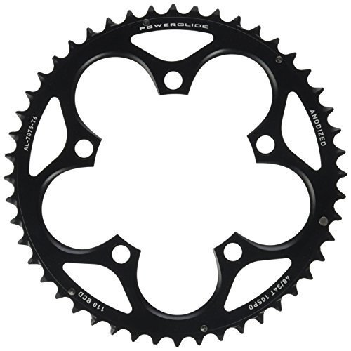 Sram Force Rival Apex 48T 10 Speed 110Mm Black Chainring For Gxp Crank
