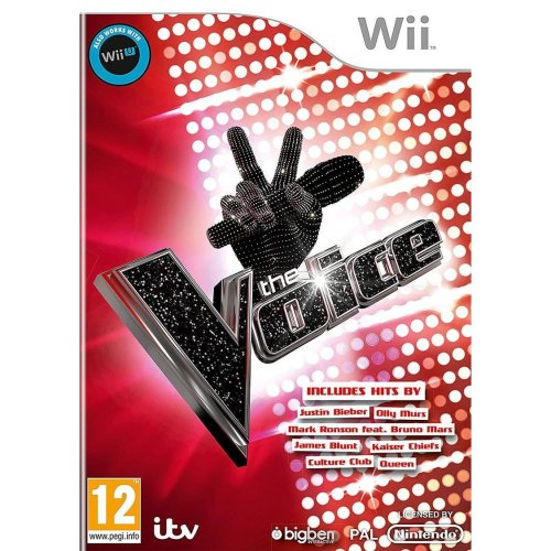 The Voice Standard edition Game only Wii U