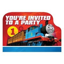 Thomas & Friends Postcard Invitations