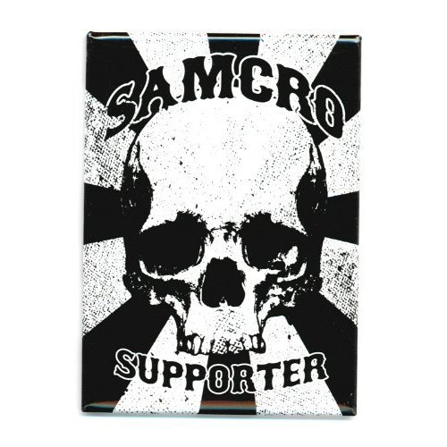 Sons Of Anarchy Soa Samcro Supporter Magnet by Animewild
