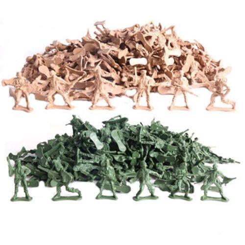 Soldier Scene Models Little Soldier Car Models Children's Toy Accessories 50PCS #1