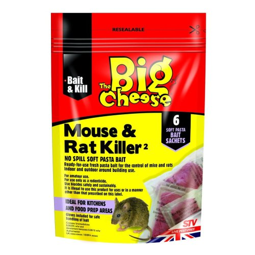 374c5060e The Big Cheese Mouse & Rat Killer Pasta Sachet Pk6 (Pack of 6) on OnBuy