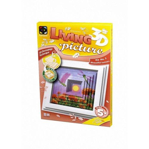 Elf956053 - Fantazer 3d Living Picture - Beautiful Sunset