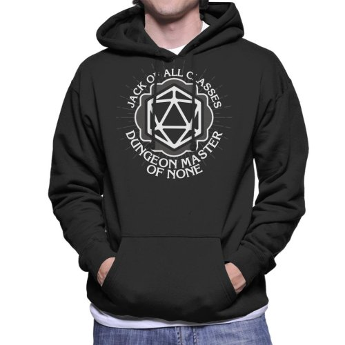 Master Of None Dungeons And Dragons Men's Hooded Sweatshirt