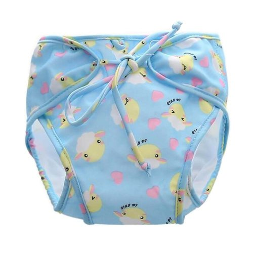 [Sheep] Reuseable Baby Swim Diaper Lovely Infant Swim Nappy Swimwear