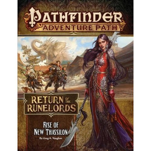 Pathfinder Adventure Path: Rise of New Thassilon (Return of the Runelords 6 of 6)