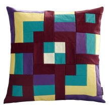 [Country Road] Handmade Unique Grid Cushion Cover 48CM