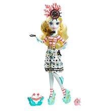 Mattel Monster High DTV91Monster Spooky Ship Sailor Doll Lagoona