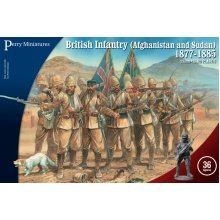 Perry Miniatures British Infantry in Afghanistan and Sudan 1877-85