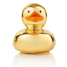 Gold Duck Butterscotch Novelty Lip Balm -  new npw ducky lip balm butterscotch gold