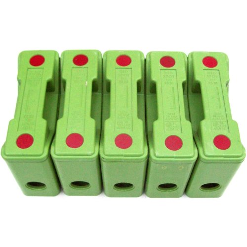 Gec Alsthom RS20 20A New Green Red Spot Fuseholder x 5 RS20H 402160