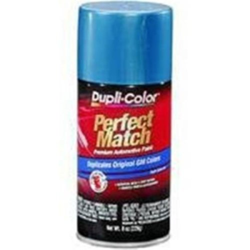 Krylon BGM0542 8 oz General Motors Exact-Match Automotive Paint, Dark Blue Metallic