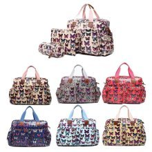 Miss Lulu 4pcs Butterfly Baby Nappy Diaper Changing Bag Set