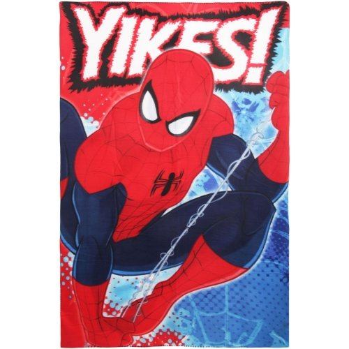 Marvel Spider-Man Character Fleece Blanket Throw
