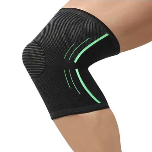 Sport Knee Compression Support Sleeve Knee Pads Knee Protector Brace(Pair), A1