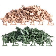 Soldier Scene Models Little Soldier Car Models Children's Toy Accessories 50PCS #1