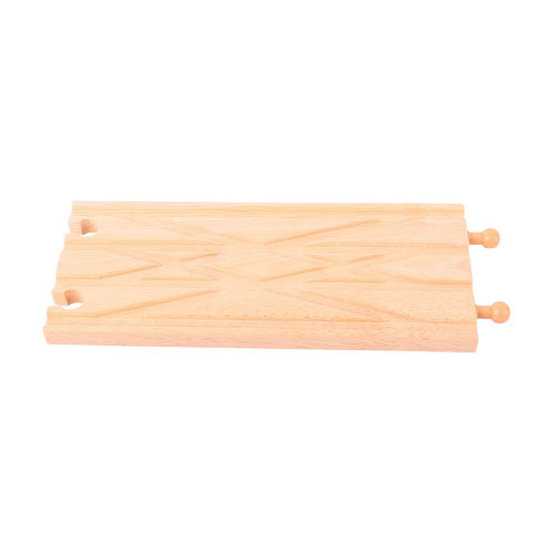Bigjigs Rail Diamond Crossover - Other Major Wooden Rail Brands are Compatible
