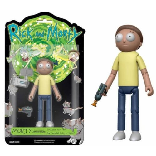Rick and Morty Morty 5-Inch Articulated Action Figure